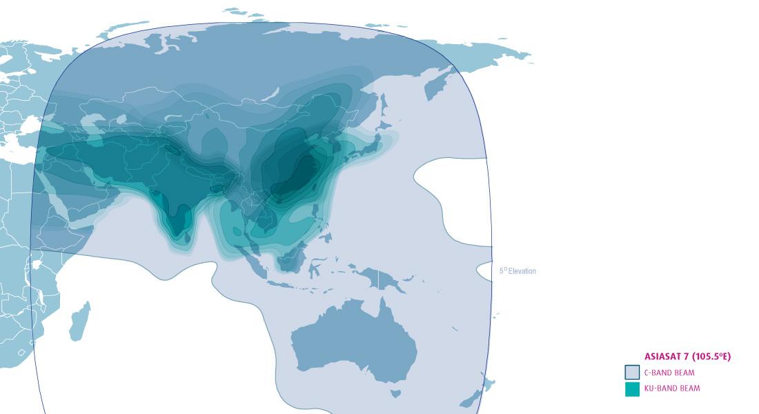 Map Of Asia Via Satellite.Asiasat Asia S Premier Satellite Operator