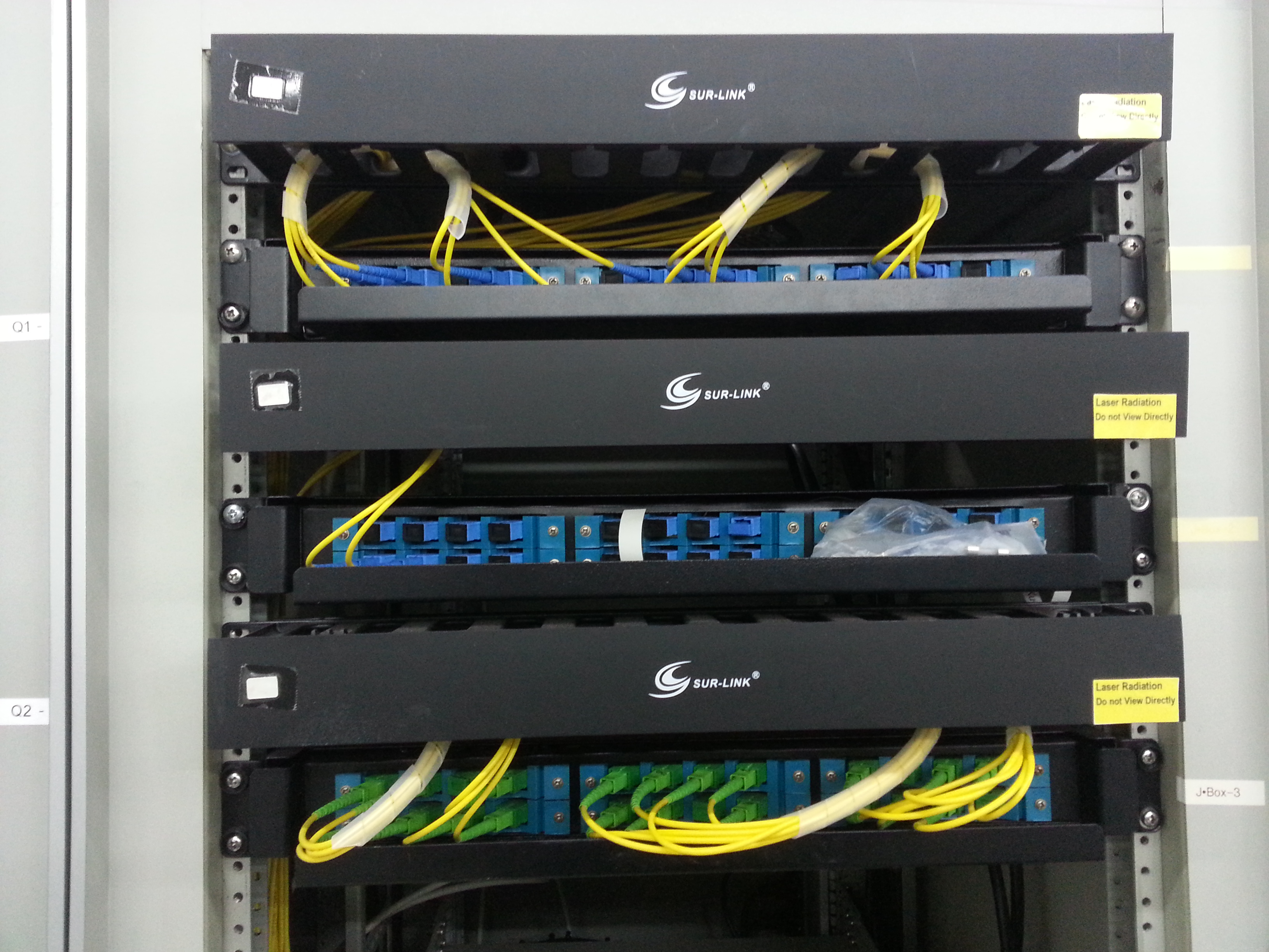 Optic Fiber Distribution Systems For Tvros Show Advantages Over Wiring Diagram As Well Patch Panel System