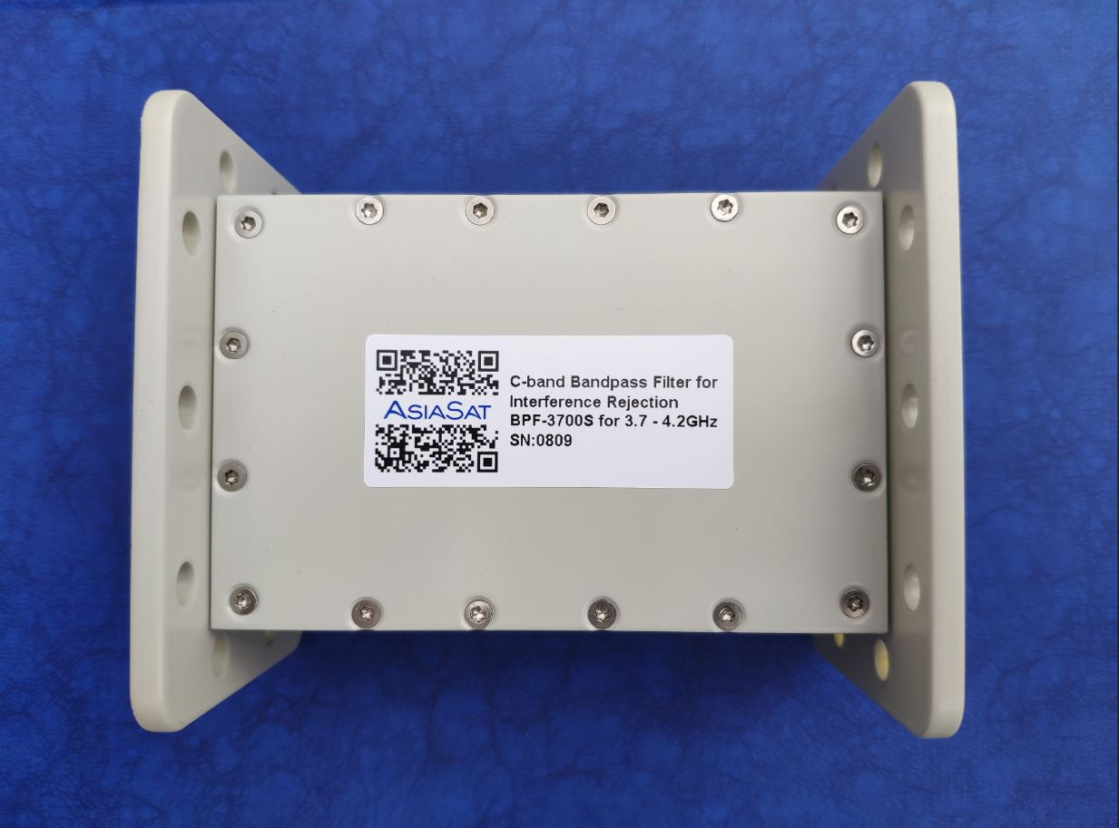 AsiaSat 5G Interference Rejection Bandpass Filter