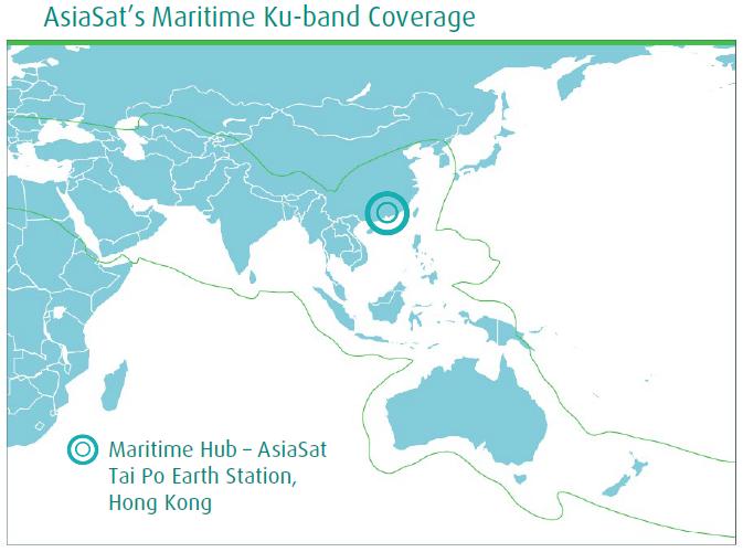 AsiaSat maritime coverage